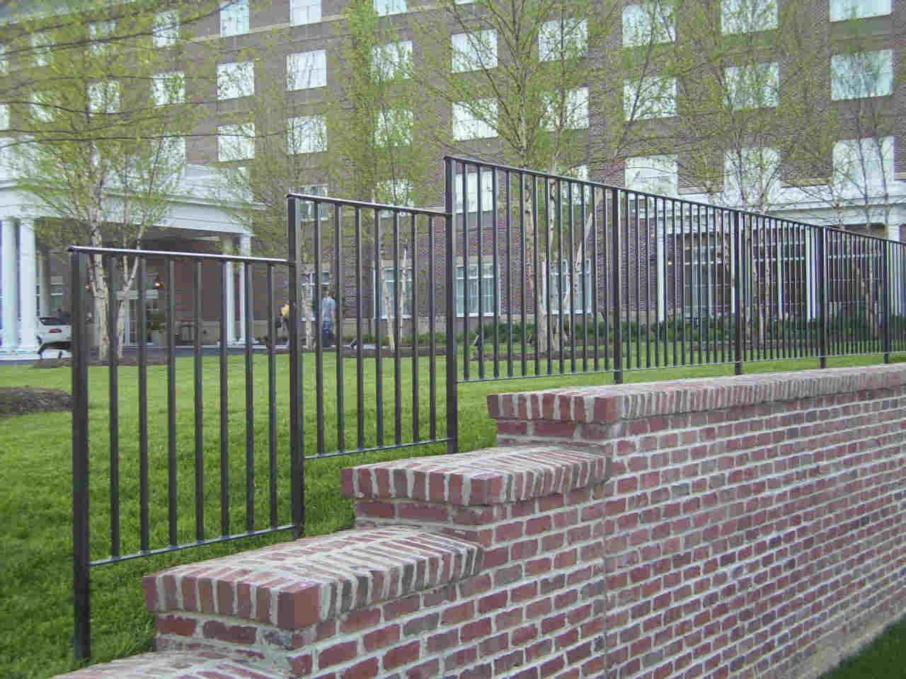 Fabricated Ornamental Iron Fence Railings Hilton