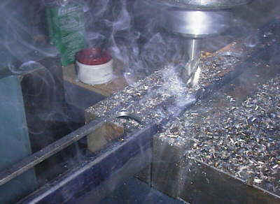 Parkway Manufacturing machine shop Hampton VA http://www.parkwaymfg.com.  Photo depicts a milling machine operation