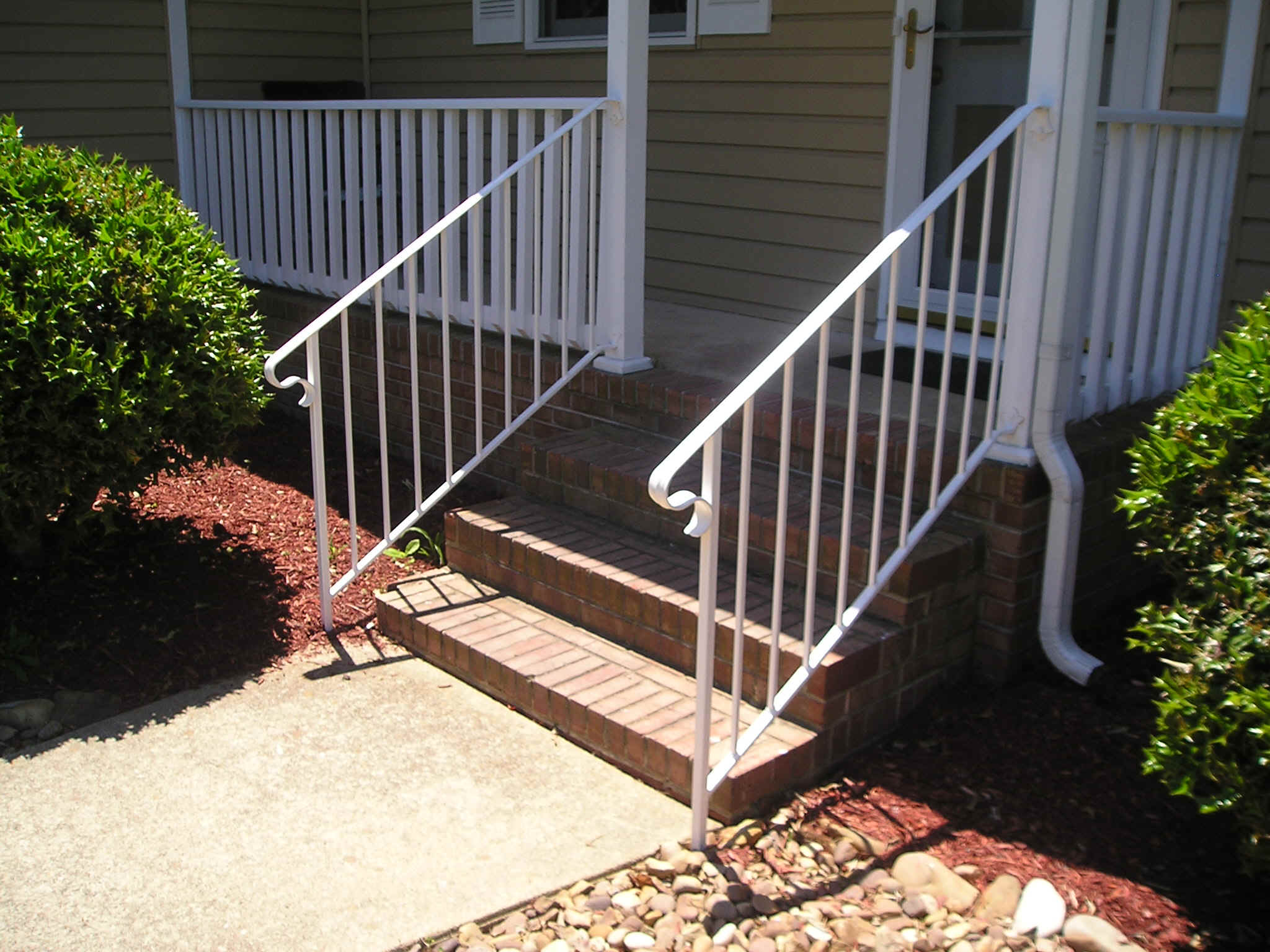 repair and matching of exisiting railings